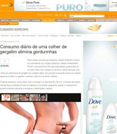Consumo de gergelim para diminuir a gordura localizada