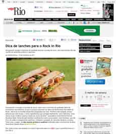 Lanches Rock in Rio