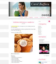 No site Carol Buffara, a nutricionista Patrícia Davidson Haiat dá dicas de receitas de bolinhos saudáveis