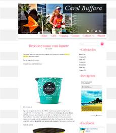 A nutricionista Patrícia Davidson Haiat dá dicas de receitas com iogurte no site Carol Buffara