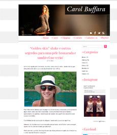 No site Carol Buffara, a nutricionista Patrícia Davidson Haiat dá a receita do Golden Skin Shake