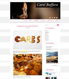 No site Carol Buffara, a nutricionista Patrícia Davidson Hait fala sobre carboidratos