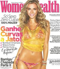 A nutricionista Patrícia Davidson Haiat é destaque na edição de dezembro da revista Women's Health