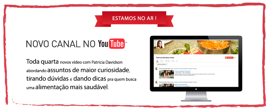 Novo canal no Youtube – 2013/12 – 01