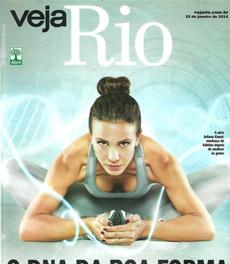 A nutricionista Patrícia Davidson Haiat é fonte em matéria da Veja Rio sobre boa forma