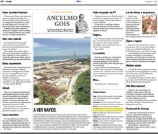 A linha de congelados detox da nutricionista Patrícia Davidson Haiat é destaque na coluna do Alcelmo Gois, no jornal O Globo