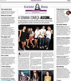 A linha Healthy Detox da nutricionista Patrícia Davidson Haiat foi destaque na coluna Gente Boa do jornal O Globo