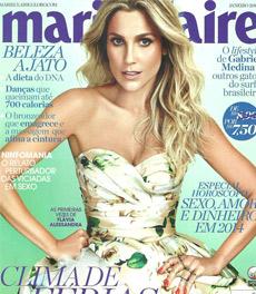 A sugestão de cardápio elaborada pela nutricionista Patrícia Davidson Haiat é destaque na revista Marie Claire de janeiro