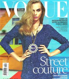 A nutricionista Patrícia Davidson Haiat é fonte em matéria sobre bronzeado, na revista Vogue de fevereiro