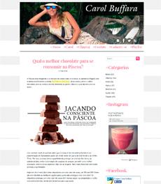 No site Carol Buffara, a nutricionista Patrícia Davidson Haiat fala sobre o melhor tipo de chocolate