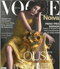 A nutricionista Patrícia Davidson Haiat foi fonte em matéria sobre preparação do corpo para o dia do casamento, na revista Vogue Noivas