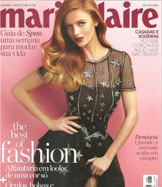 A nutricionista Patrícia Davidson Haiat é fonte em matéria sobre alimentos para evitar o estresse, na revista Marie Claire de julho