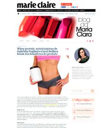 A nutricionista Patrícia Davidson Haiat é fonte em matéria sobre alimentos que melhoram o humor, no site da revista Marie Claire