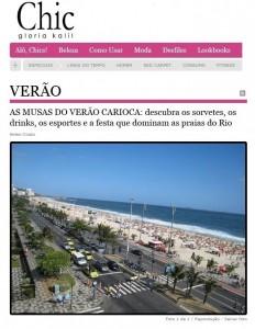 As Mias do verão carioca