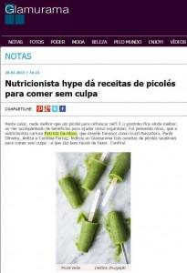 Nutricionista hype dá receitas de picolé para comer sem culpa.